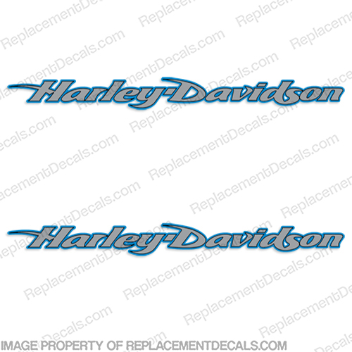 Harley-Davidson Fuel Tank Motorcycle Decals (Set of 2) - Style 24 harley, harley davidson, harleydavidson, davidson, style, 24