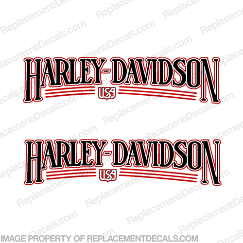 Harley-Davidson Heritage Softail Decals 1986-1989 (Set of 2)  Harley, Davidson, Harley Davidson, soft, tail, 1986, 1989, softail, soft-tail, harley-davidson
