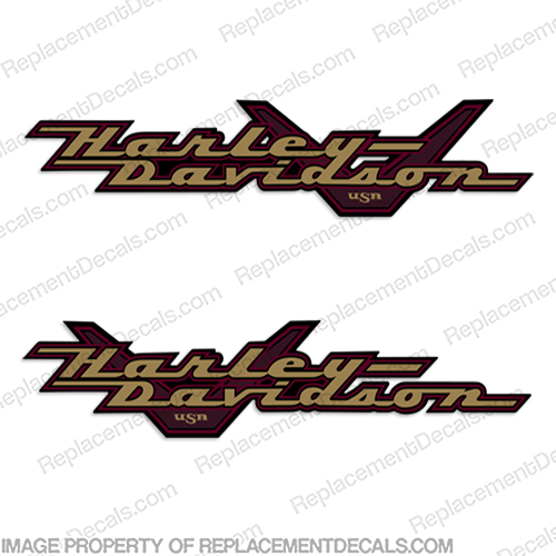 Harley-Davidson Road King FLHR Decals (Set of 2) - 1999-2001  Harley, Davidson, Harley Davidson, road, king, 1999, 2000, 99, 99, 00, 00, 2009, 2010, 2012, 2011, 2013, 2014, softtail, soft-tail, harley-davidson, v, decal, sticker, emblem, flhr, FLHR, road, king, roadking,
