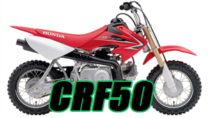 CRF50 Decals