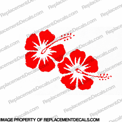 Hibiscus Decal