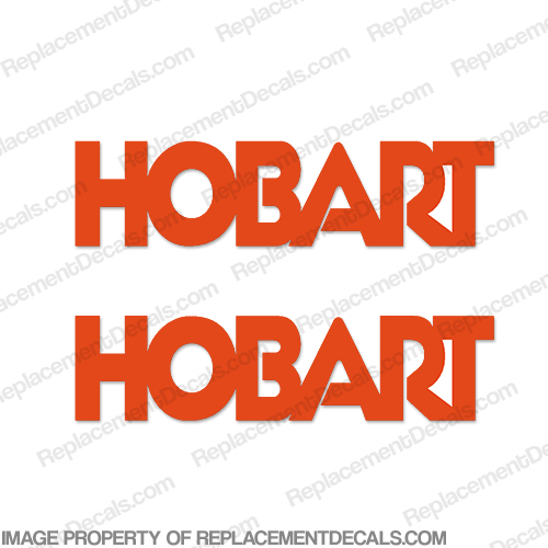 Hobart Welder Decal Kit (Set of 2)