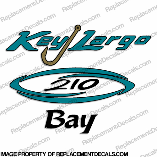 Key Largo 210 Bay Boat Decal