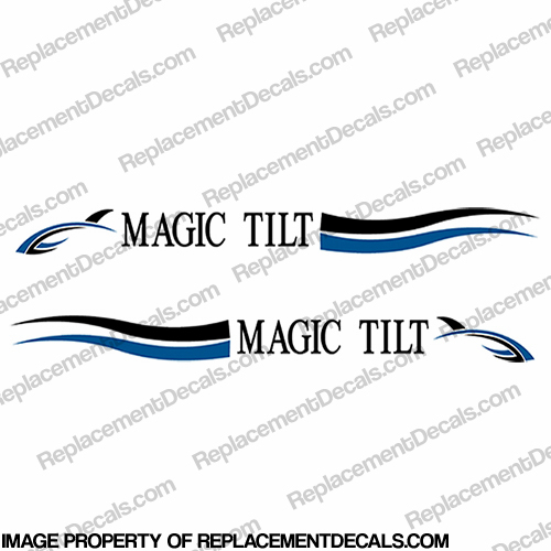 Magic Tilt Trailer Decals (Set of 2)