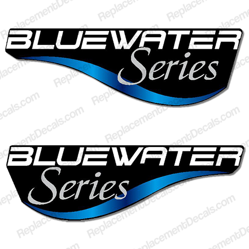 "Mercury ""Bluewater"" Decal (Set of 2)"