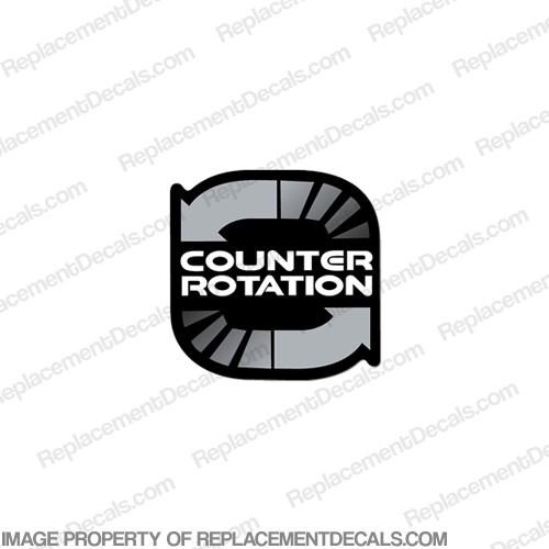 "Mercury ""Counter Rotation"" Decal"