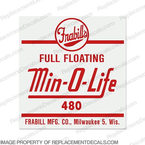 Min-O-Life Bucket Decal