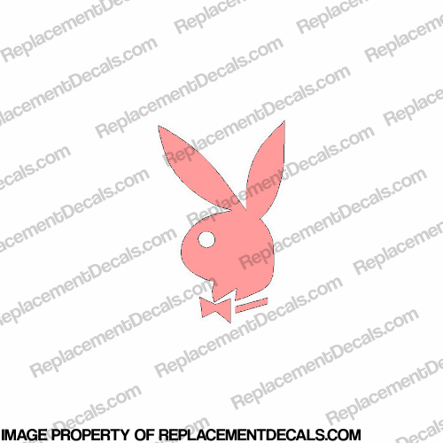 Playboy Bunny Decal 6""