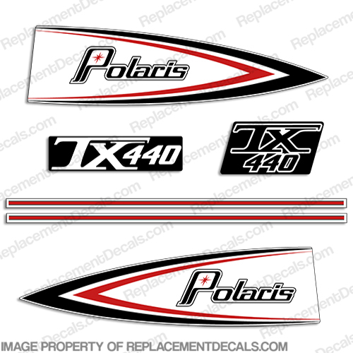 Polaris 1976 TX440 Decals