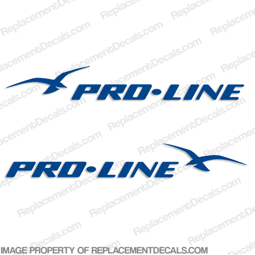 Pro-Line Boat Decals - Any Color! proline, pro-line