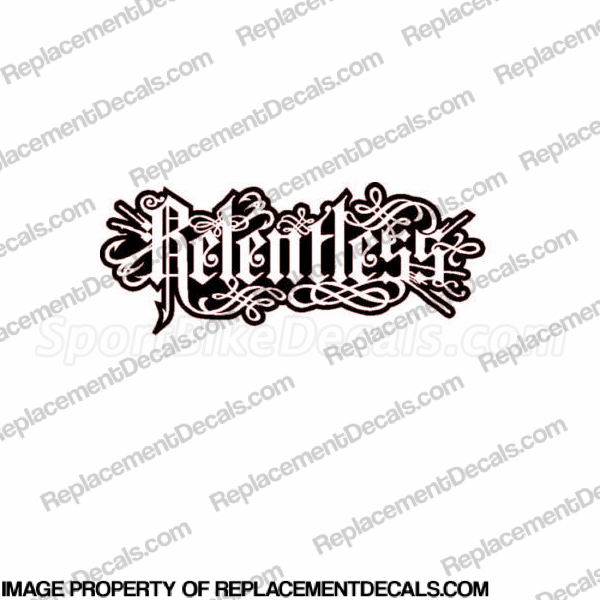 Relentless Decal -5""