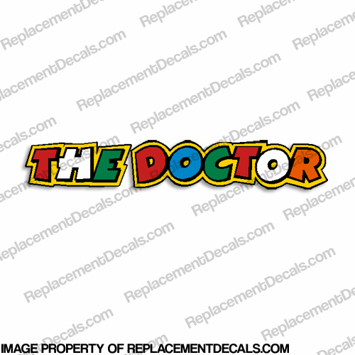 "Valentino Rossi ""The Doctor"" Decal"