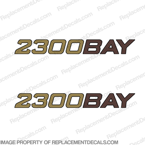 "Ranger Boats ""2300 Bay"" Decals (Set of 2)"