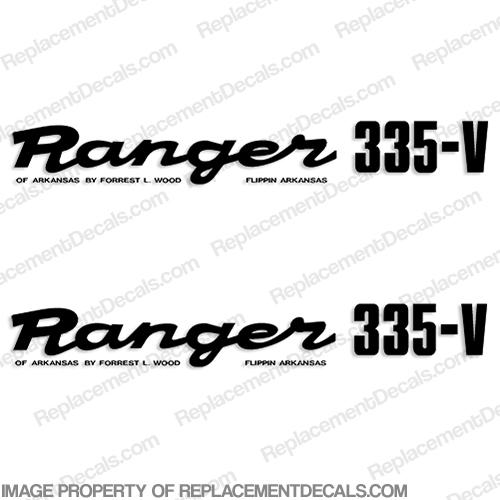 "Ranger Boats 2X 10/""X 3/"" Decal vinyl stickers graphics"