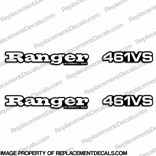 Ranger 461VS Decals (Set of 2) - Any Color!