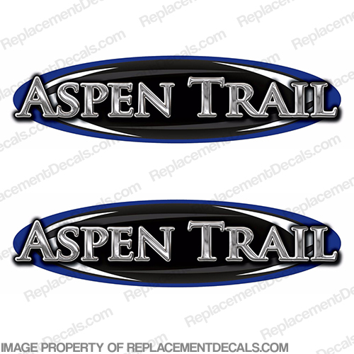 Aspen Trail by Dutchmen RV Decals (Set of 2)