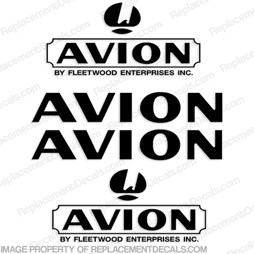 Avion by Fleetwood RV Decal Package Any Color!