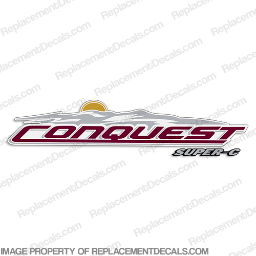 Conquest Super-C by Gulfstream RV Decals