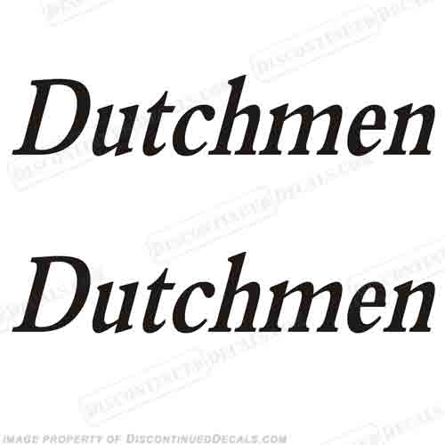 Dutchmen RV Decals (Set of 2) - Any Color!