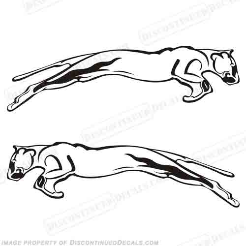 Fleetwood Prowler RV Decals (Set of 2) - Any Color!