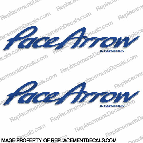 Pace Arrow RV Decals (Set of 2) - Any Color!