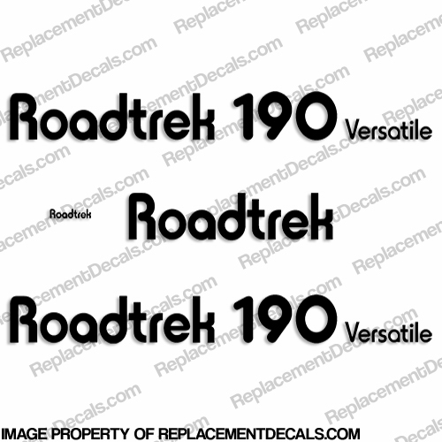 RoadTrek 190 Versatile RV Decals - Any Color!