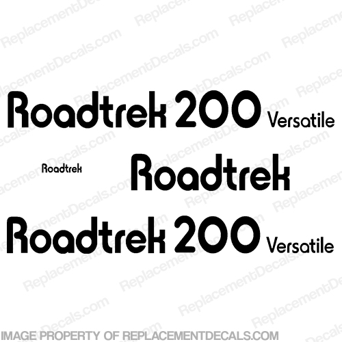 RoadTrek 200 Versatile RV Decals - Any Color!