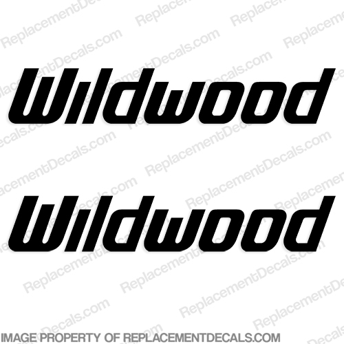 Wildwood RV Decals (Set of 2) - Any Color!