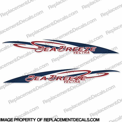 Sea Breeze Vectra Logo Decals (Set of 2)