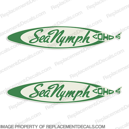 Sea Nymph Coho 16 Decals (Set of 2)