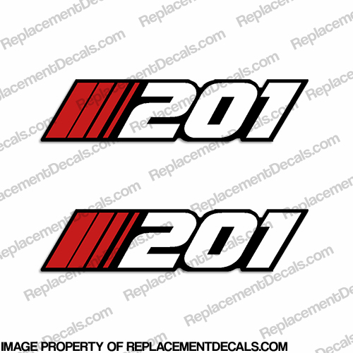 "Stratos ""201"" Decal (Set of 2)"