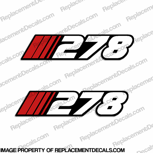 "Stratos ""278"" Decal (Set of 2)"