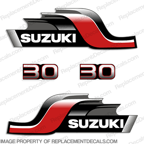 Suzuki 70hp FourStroke Outboard Decal Kit DF70 Replacement Decals 1998-2002