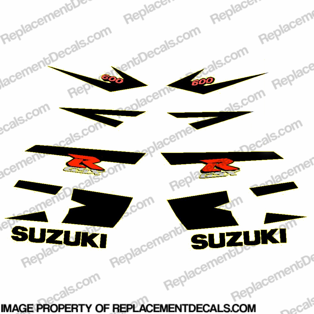 Suzuki GSX-R 600 Full Decal Kit - 2004