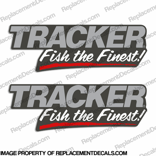 "Tracker Boats ""Fish The Finest"" Decals"