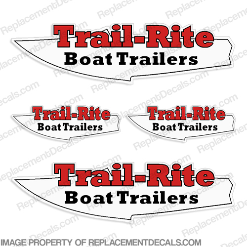 Trail-Rite Boat Trailer Decal Package
