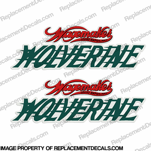 1954 Wagemaker Wolverine Boats Decal