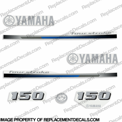 Yamaha 150hp Decals - 2013 Style