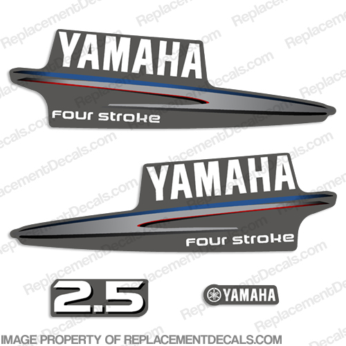Yamaha 2.5hp Fourstroke Decals