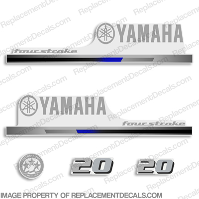 Yamaha 2010+ Style 20hp Decals