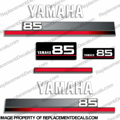 Yamaha 85hp Older Style Decals