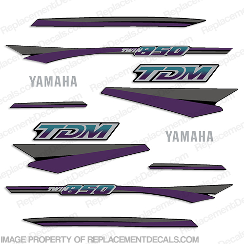 Yamaha 1993 TDM 850 Decals