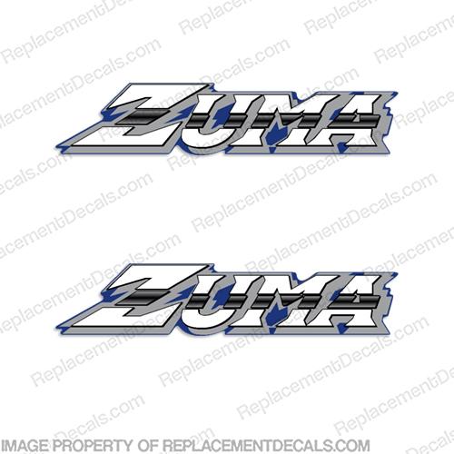 Zuma 50cc Scooter Decals (2000)